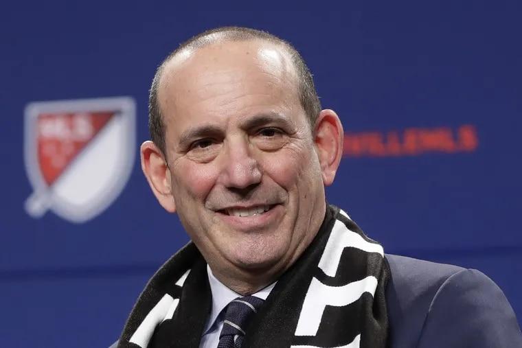Major League Soccer commissioner Don Garber.