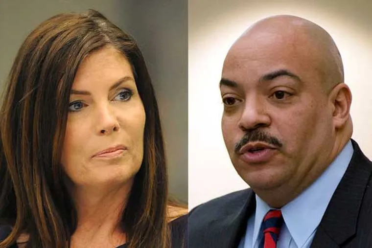 Attorney General Kathleen G. Kane challenged Philadelphia District Attorney Seth Williams to take over the sting case - after Williams emerged as the biggest critic of her decision to shut it down. This week, Kane appeared to take a step back, writing Williams a letter suggesting he had political conflicts that might impair his ability to prosecute.