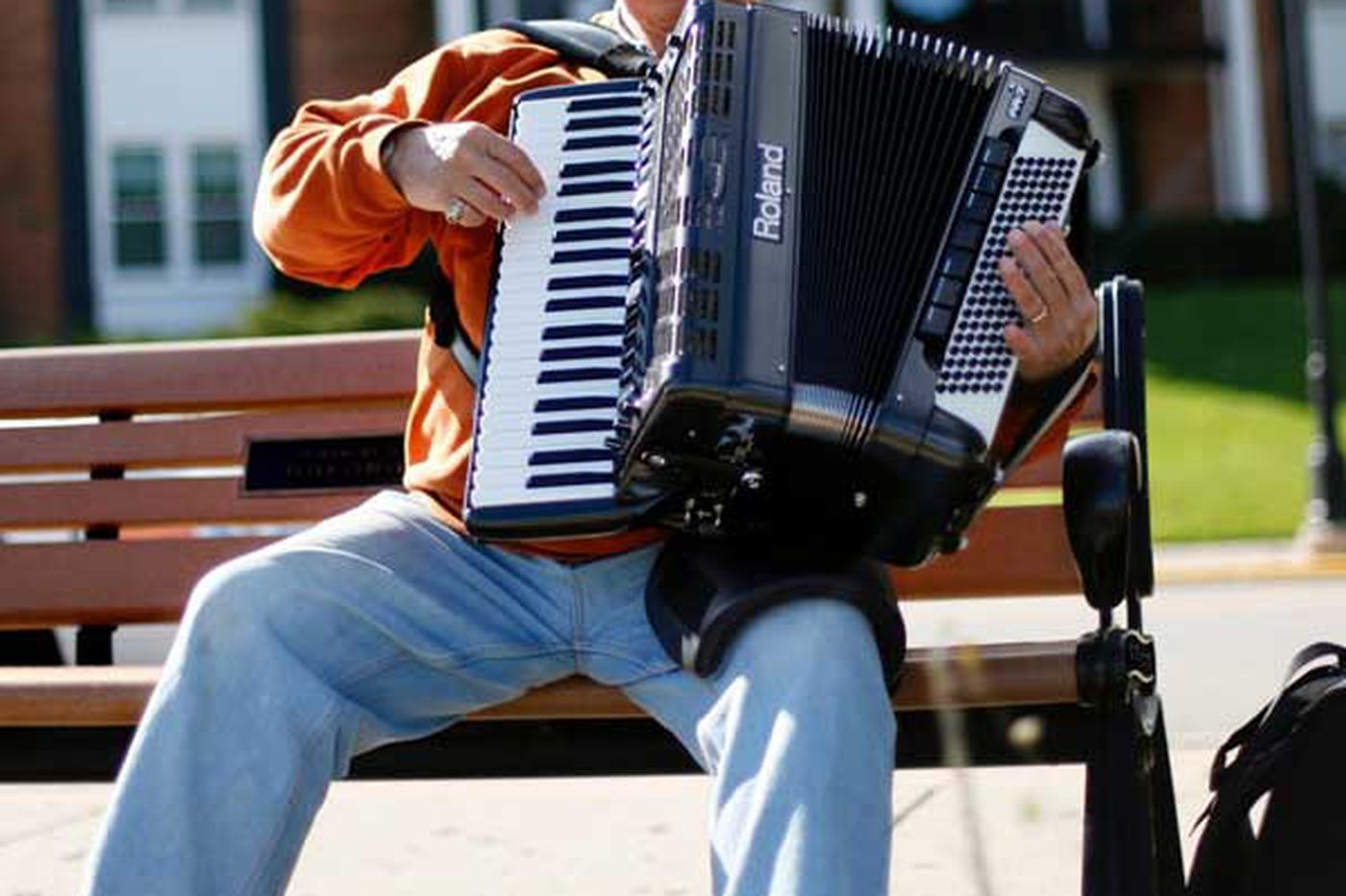 The squeeze box is accorded new respect