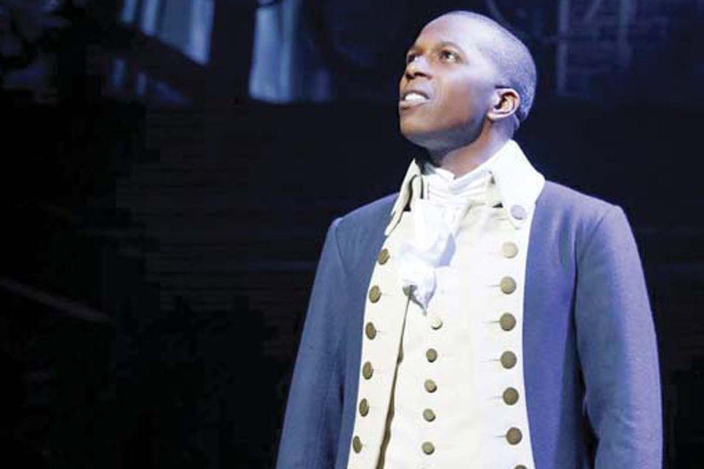 Philadanco is bringing back Leslie Odom Jr. of 'Hamilton' fame for alumni performance