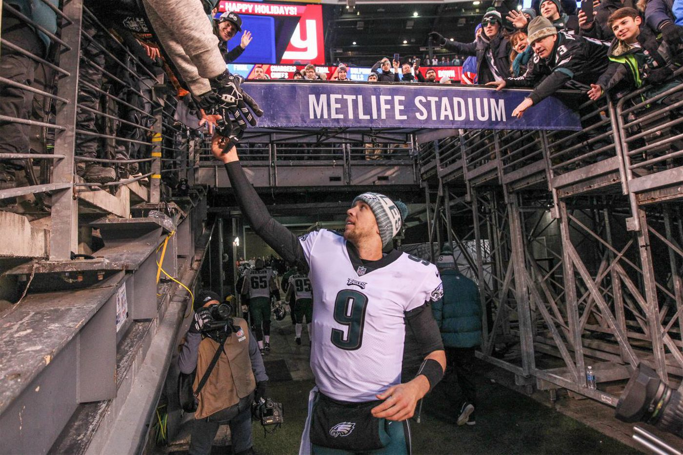 Eagles' Chance pays off this time, as Warmack steps in ably for Stefen Wisniewski