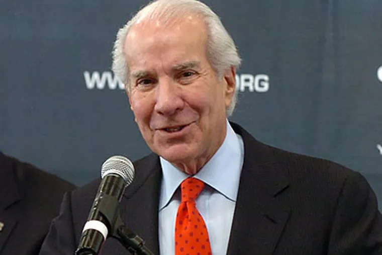 """""""Nothing is coming from us,"""" 76ers chairman Ed Snider said. (Sarah J. Glover/Staff file photo)"""