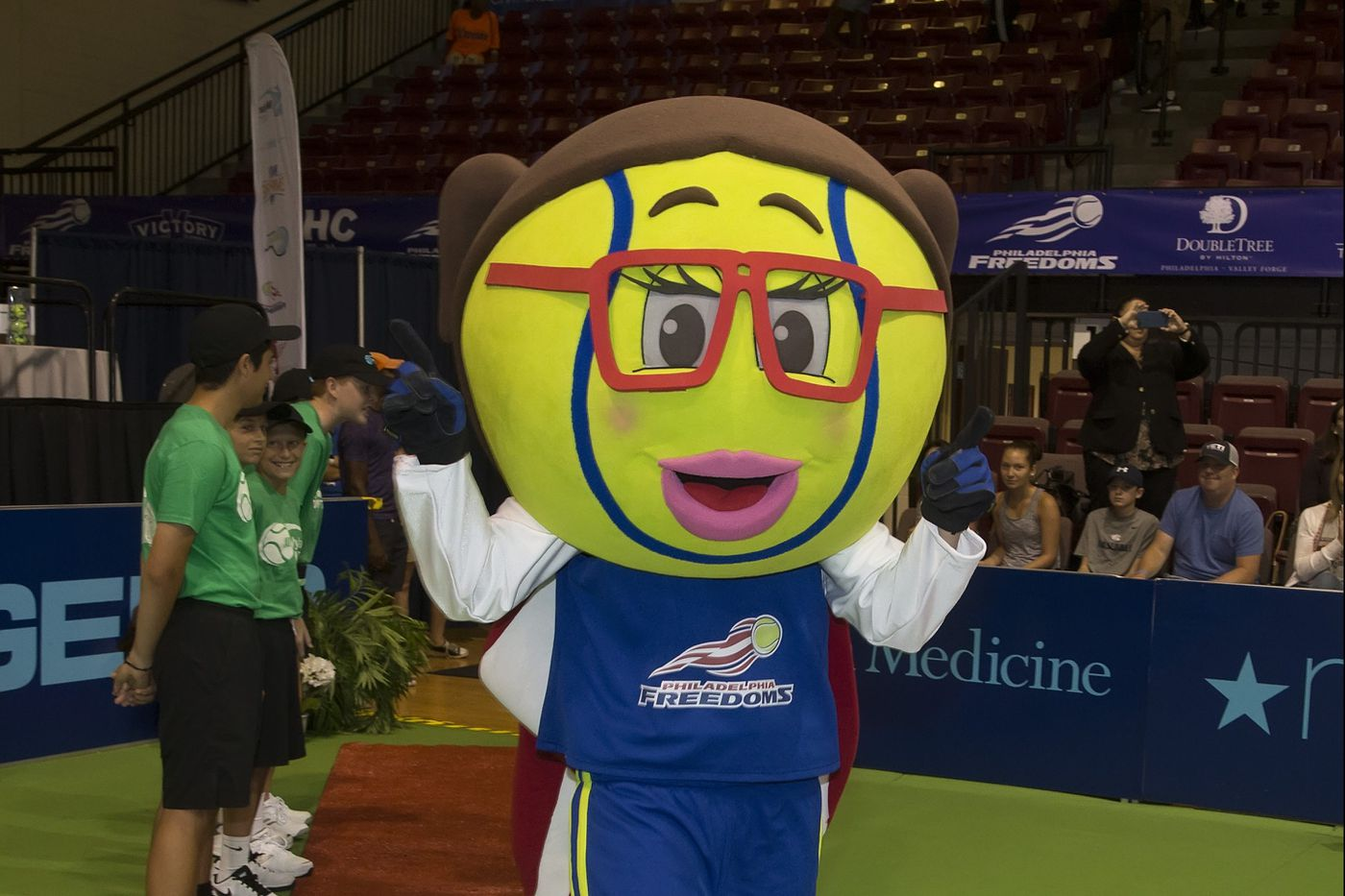 Freedoms missing mascot, Nettie, is found in time for Sunday's title match