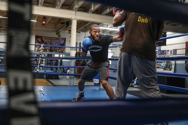 West Philly's Julian Williams, once homeless, became a boxing champion for himself, by himself