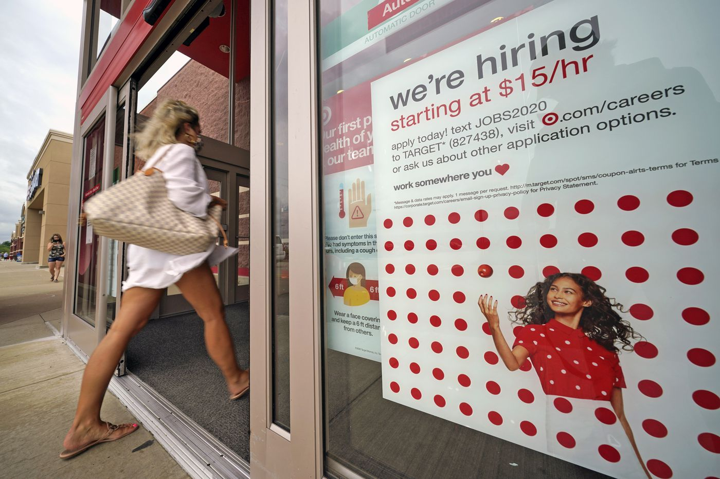 U.S. economy adds 1.4 million jobs in August as the unemployment rate hits single digits