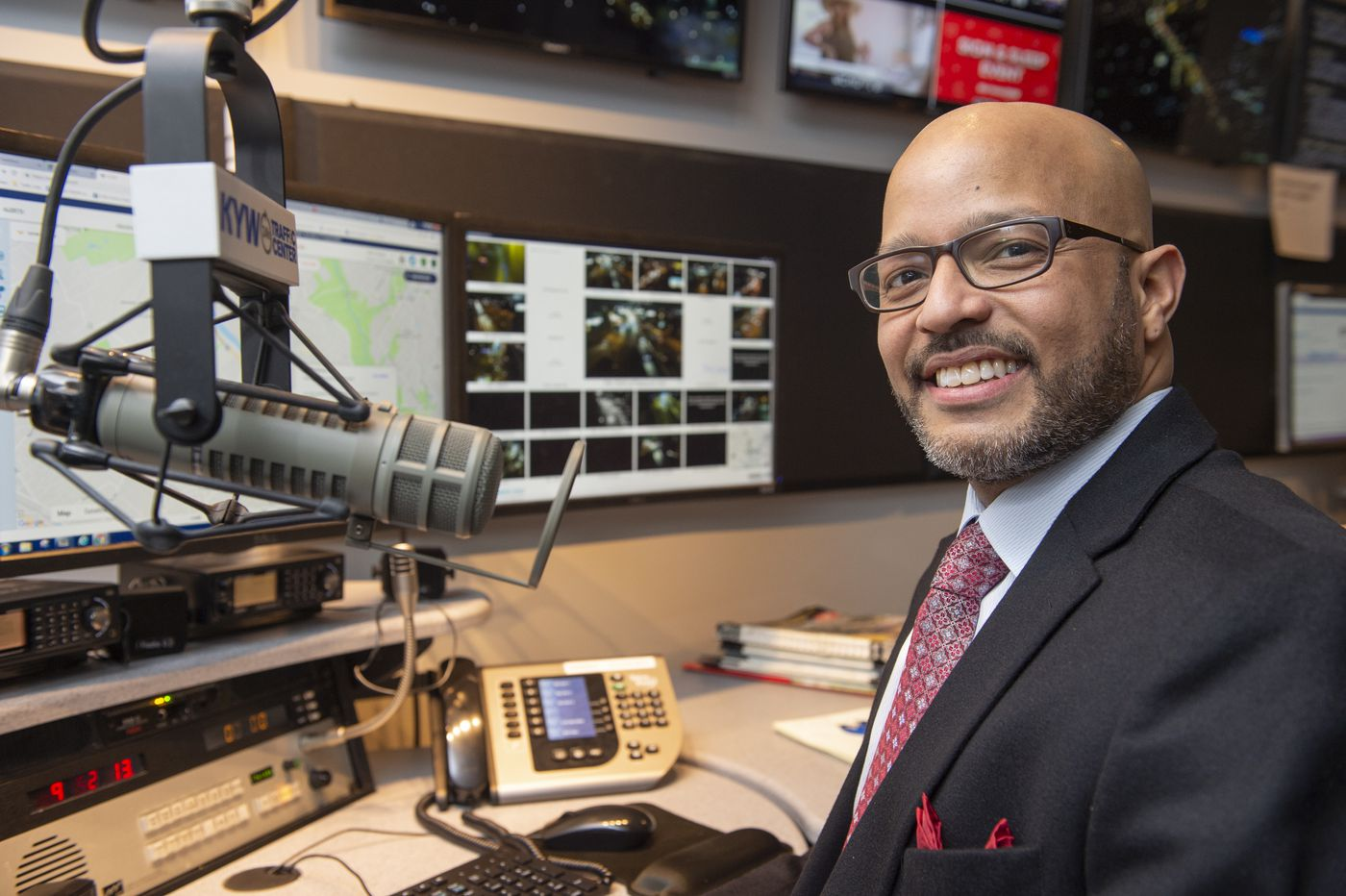 KYW's Malcolm Poindexter III is now following in the footsteps of his famous father