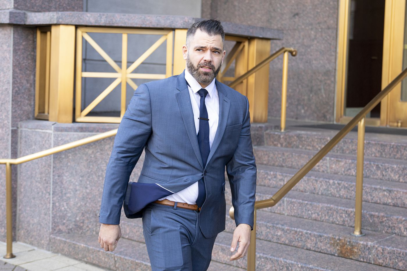 Mark D'Amico 'will fight' federal charges in GoFundMe scam that raised money for homeless vet Johnny Bobbitt