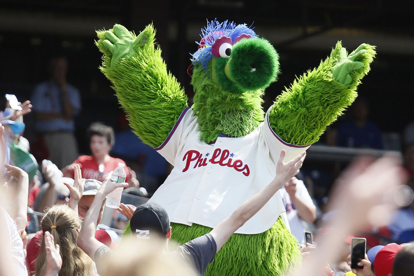 Phillies sue Phanatic creator to prevent mascot from becoming a 'free agent'