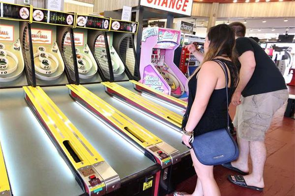It's Hot: Skee-Ball