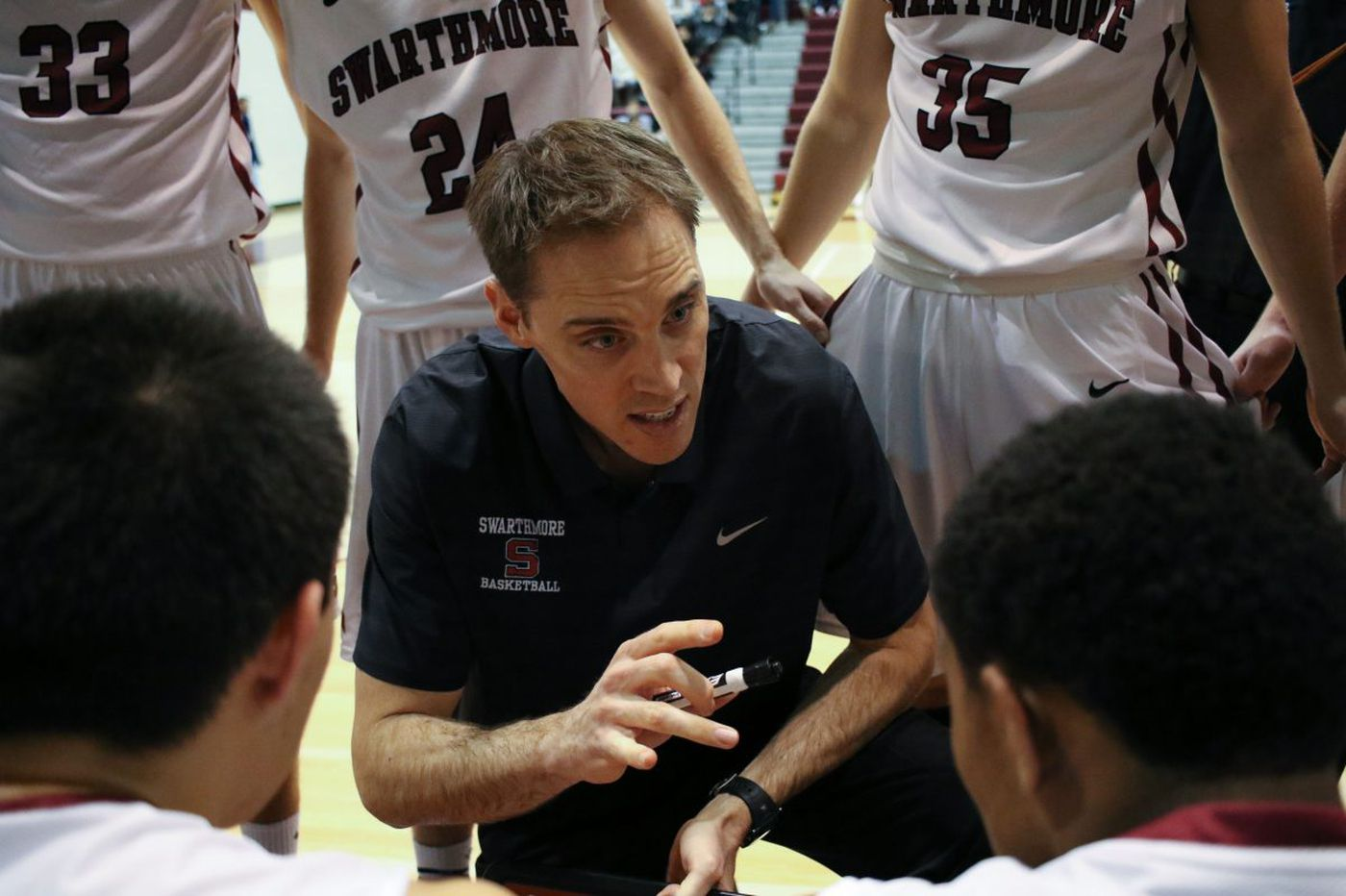 Swarthmore College beats Plattsburgh State in NCAA Division III tournament