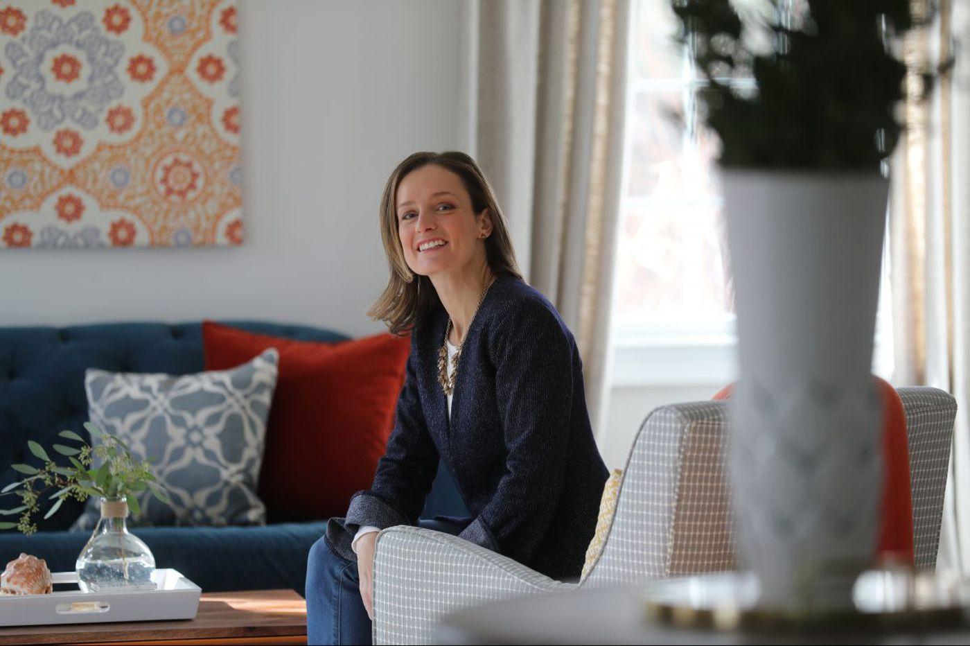 Interior designer imprints her own color palette on Devon Colonial
