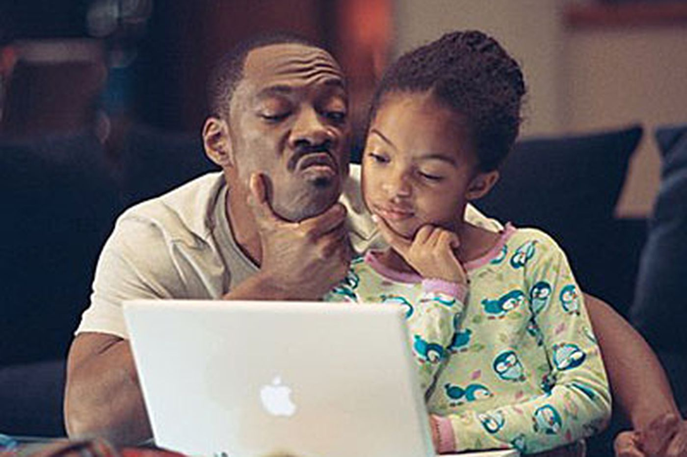 Daddy/daughter comedy with a feel-nice vibe