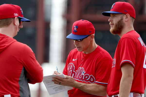 Why the Phillies are projected to have a losing season   Extra Innings