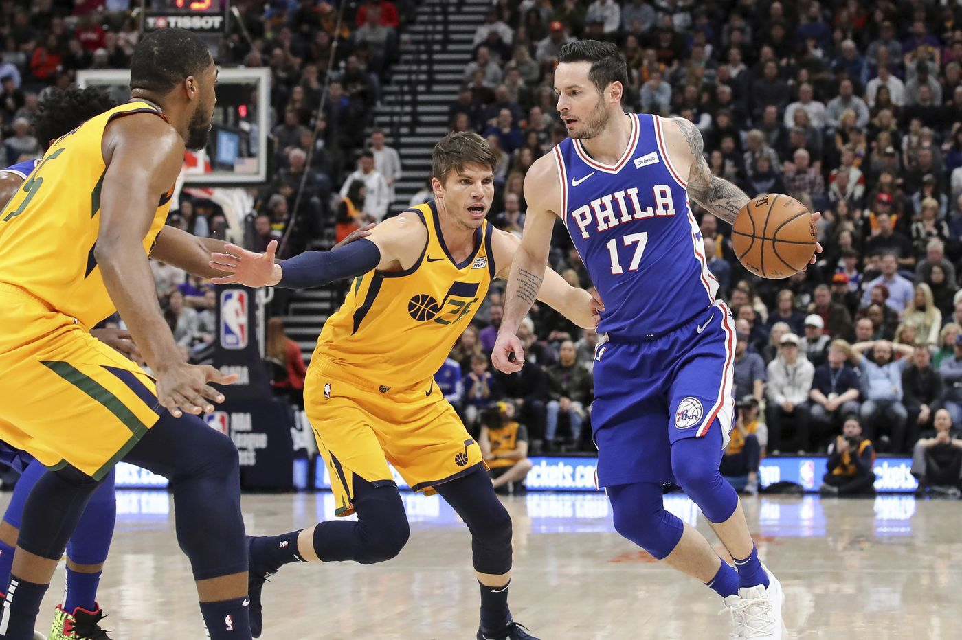 Sixers still looking for a shooter, having not replaced JJ Redick yet