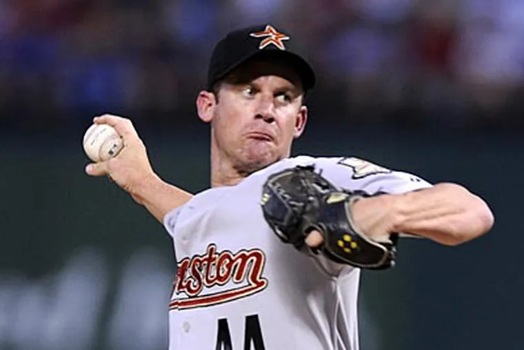 Roy Oswalt could be a potential trade option to bolster the Phillies starting rotation. (AP Photo/Cody Duty)