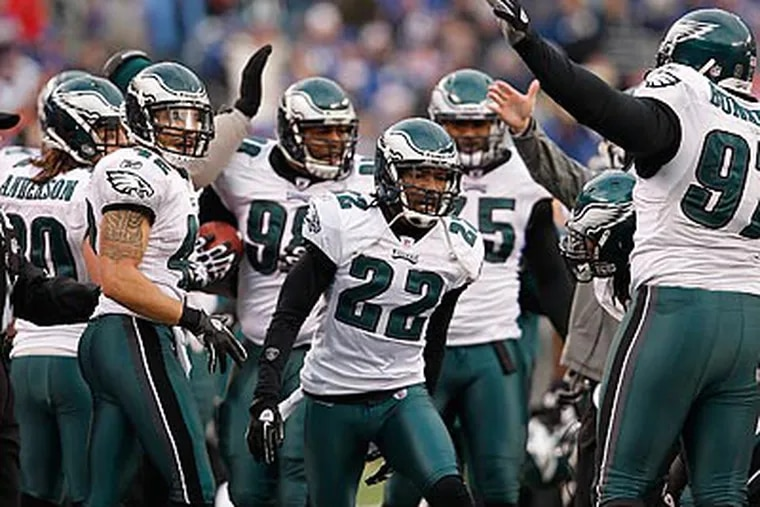 The Eagles say they'll try to not fall behind Sunday the way they did against the Giants. (David Maialetti/Staff Photographer)