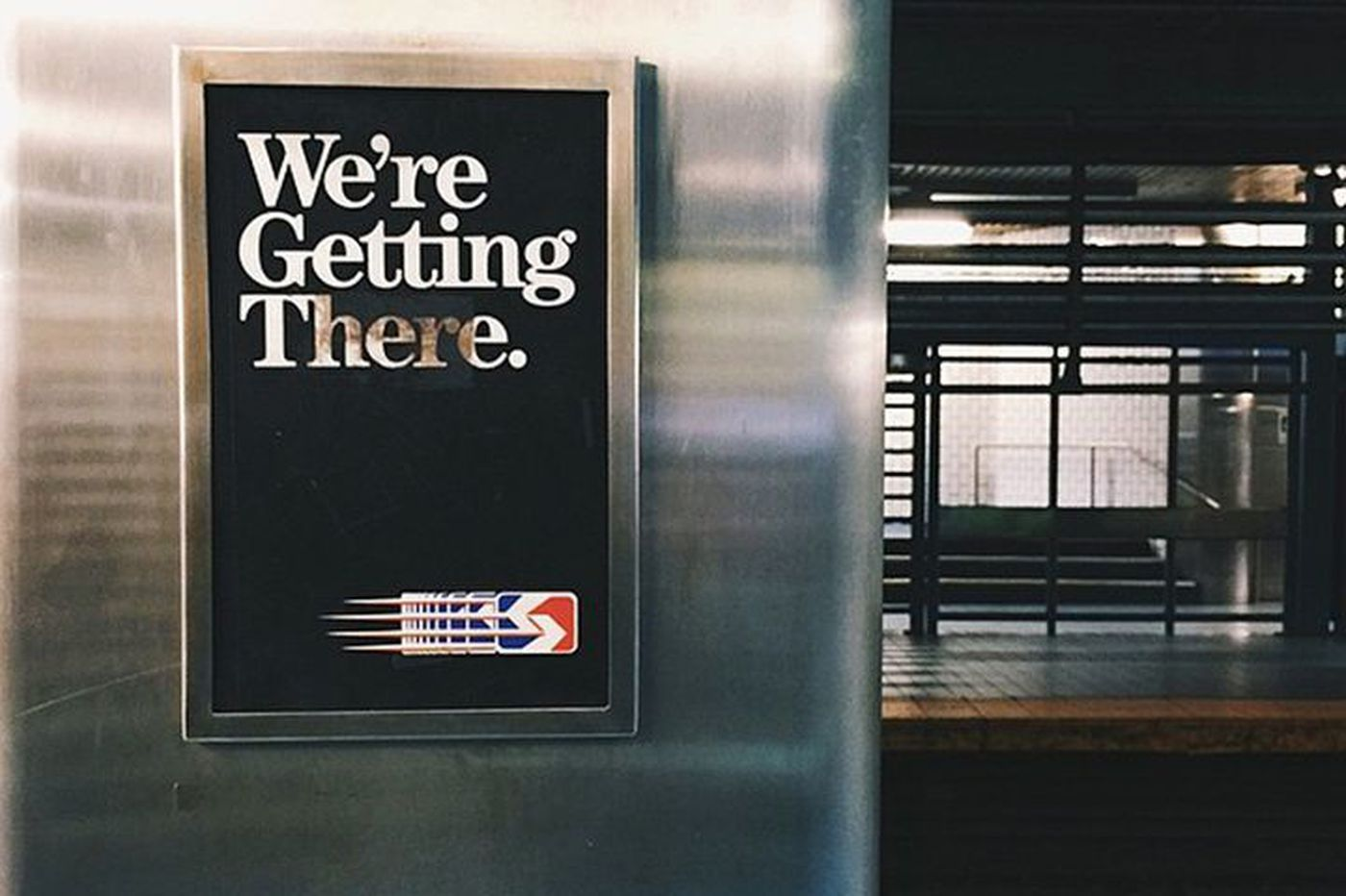 SEPTA's old 'We're Getting There' slogan has a legacy. Here's how it got there.