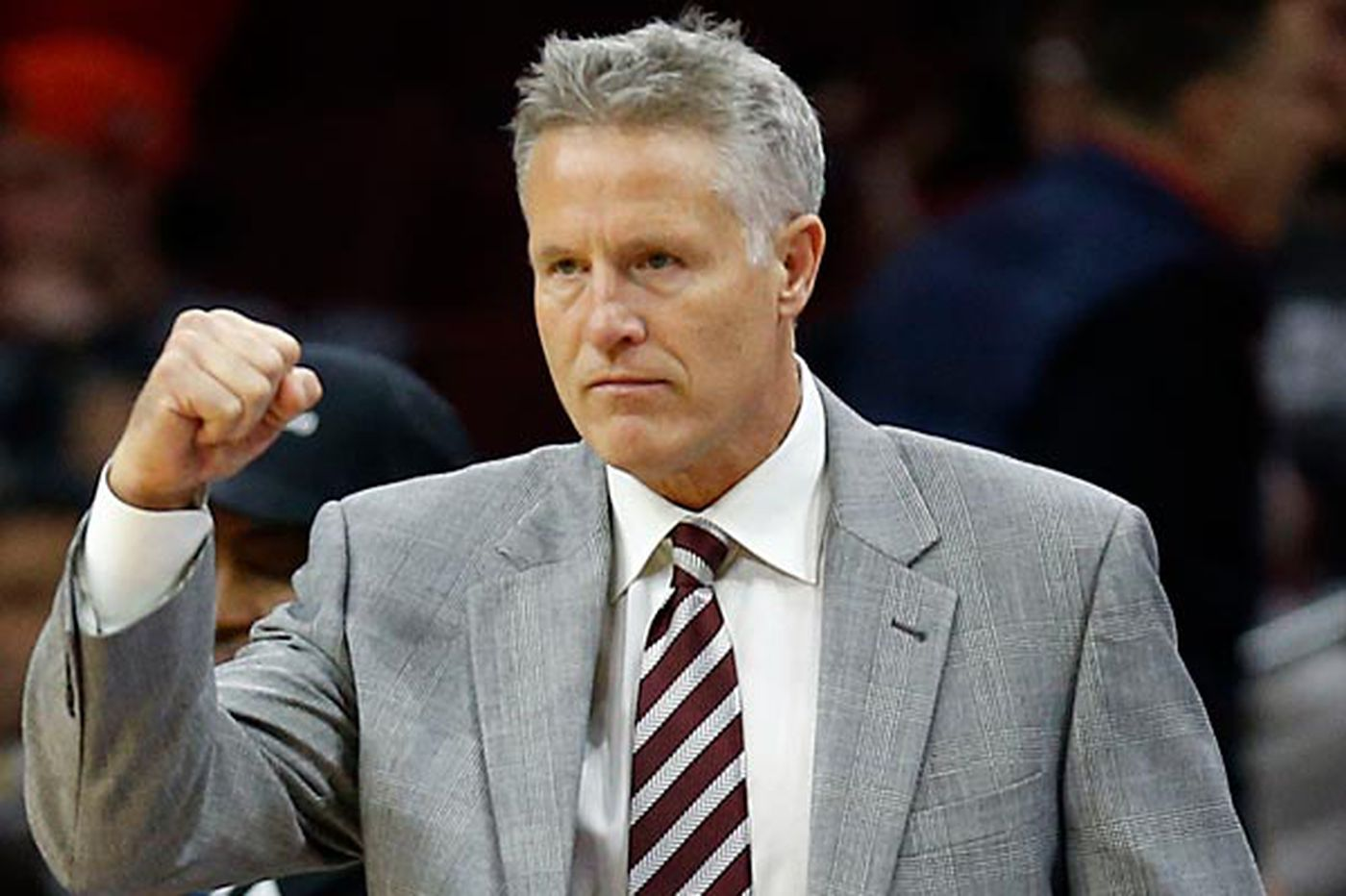 Sixers 'flushing out the elephant,' Brown says