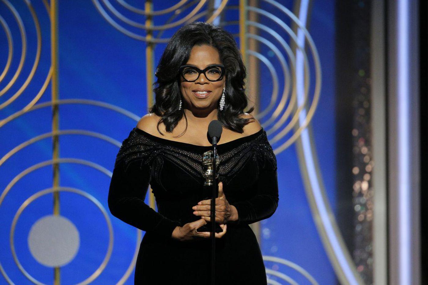 Golden Globes winners: Seth Meyers, Oprah, viewers tired of Trump jokes