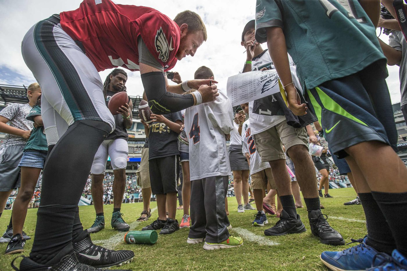 Eagles to open only one training-camp practice to public, will charge admission for charity