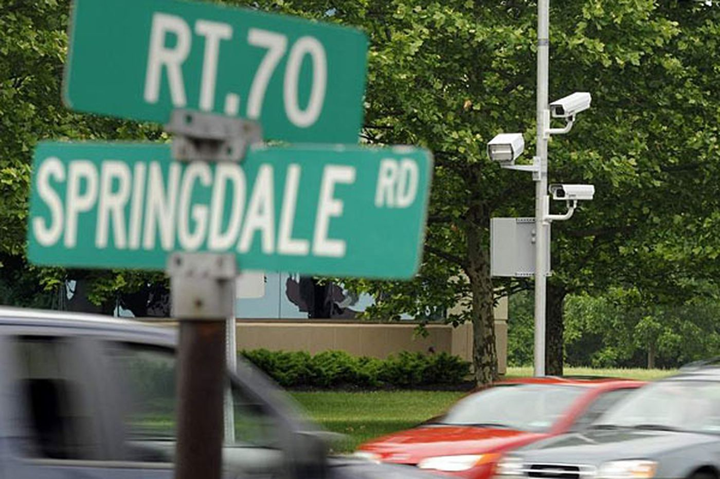 Report: NJ's 'meanest' red-light camera is in Cherry Hill