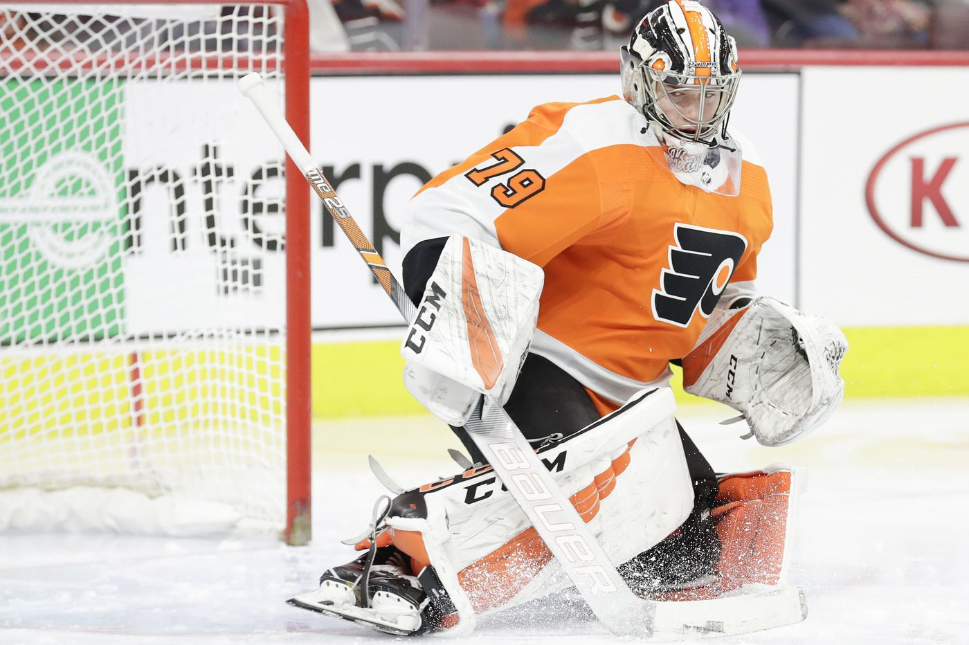 Carter Hart making first start in three weeks with Flyers in virtual must-win situation against Capitals