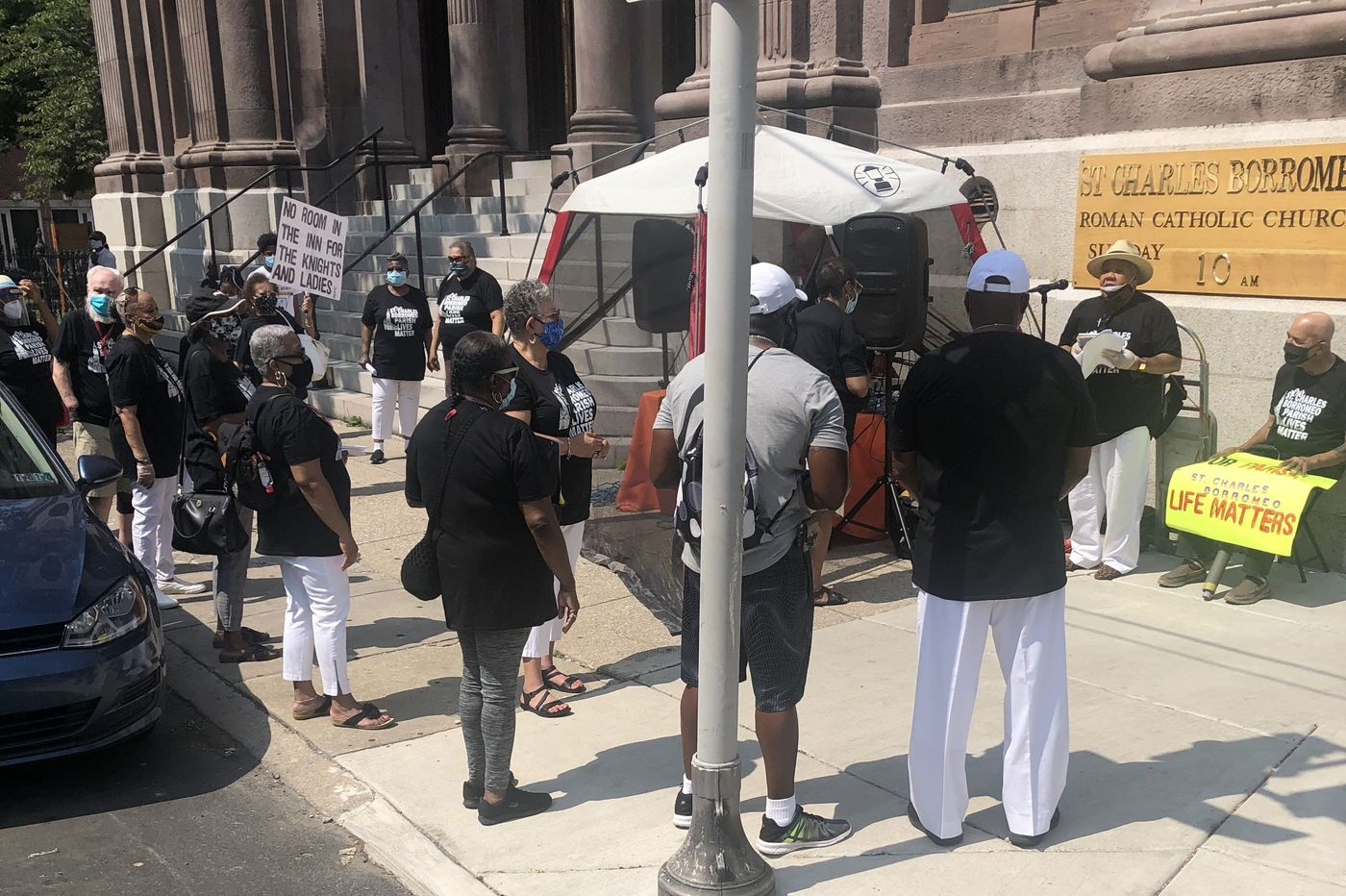 Black members of St. Charles Borromeo Church in South Philly allege racism and will protest to declare their 'parish lives matter'