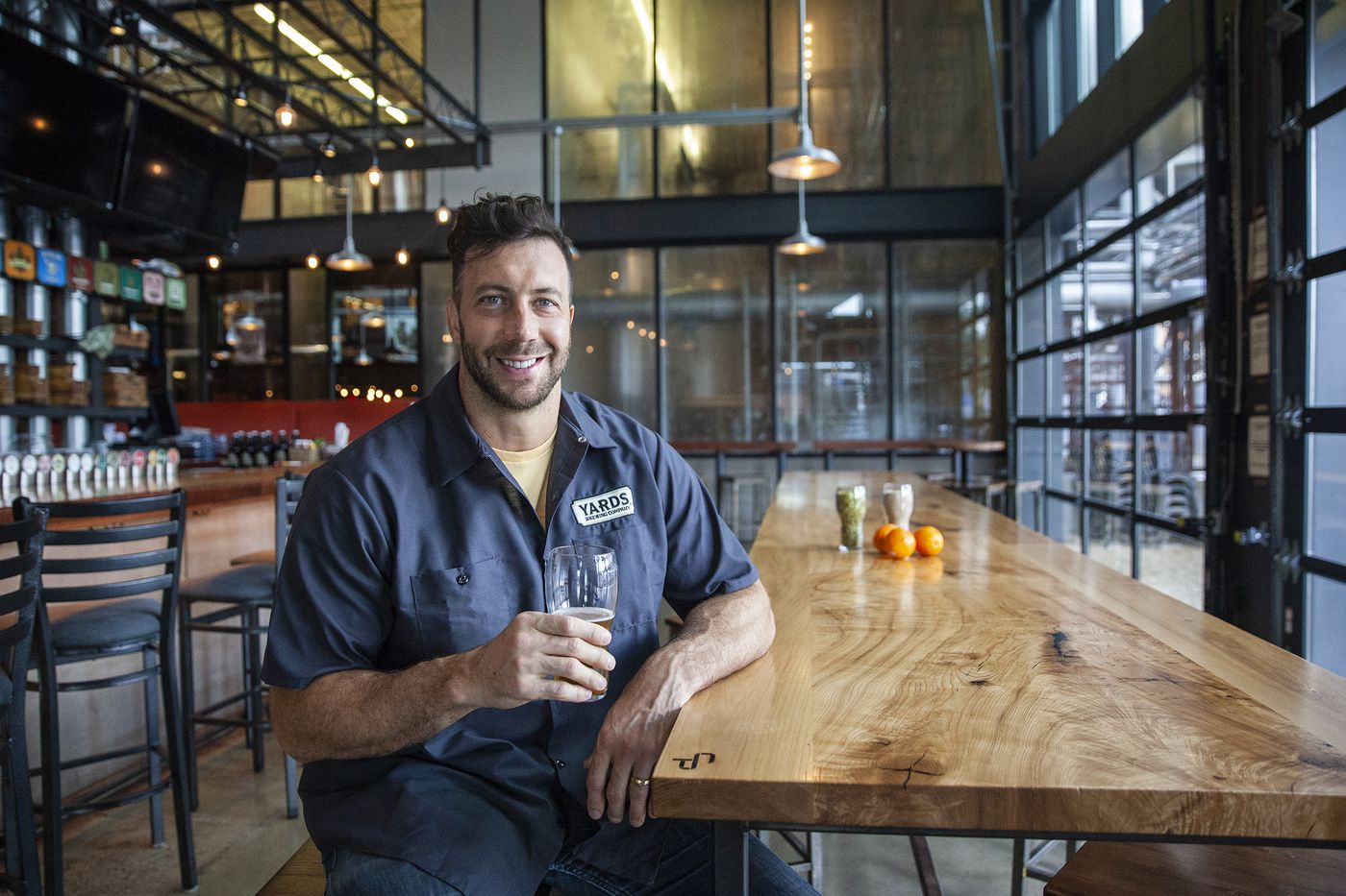 Former Philadelphia Eagles linebacker Connor Barwin and Yards Brewing Company team up on a new beer