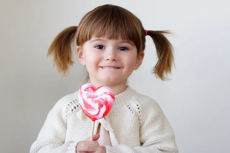 Kids and candy just seem to find each other, especially at holidays like Valentines Day.