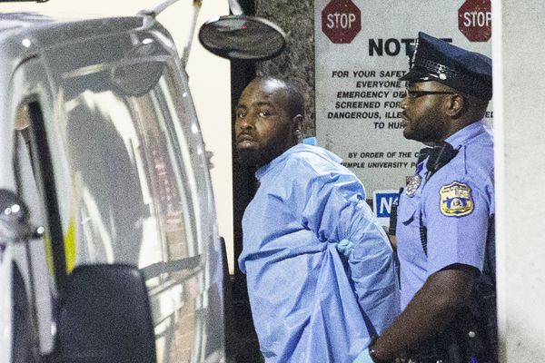 North Philly standoff's alleged cop shooter, Maurice Hill, has a long criminal history