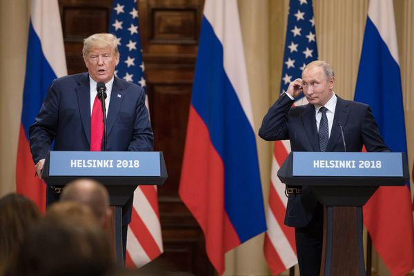 Trump is surrounded by leakers. Why would he trust them with his Putin notes?   Marc Thiessen