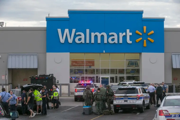 Police were called to the Walmart in Cheltenham Township on Tuesday for reports of a shooting. Keenan Jones, the suspected shooter, was arraigned Wednesday on multiple counts of reckless endangerment and attempted murder.