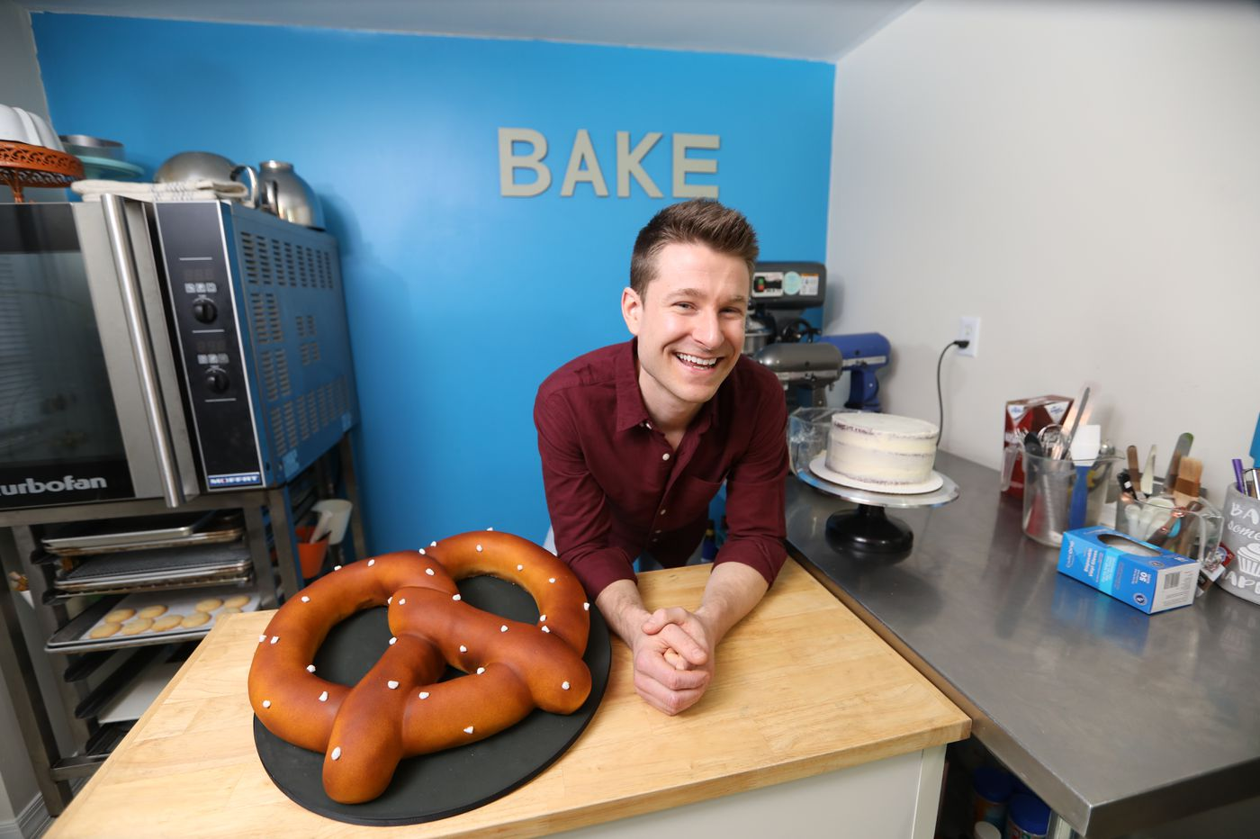 How baker Dan Langan got to the Food Network from his Havertown home kitchen