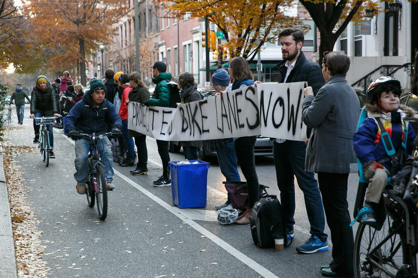 What Philly should do about bike-lane safety | Readers respond