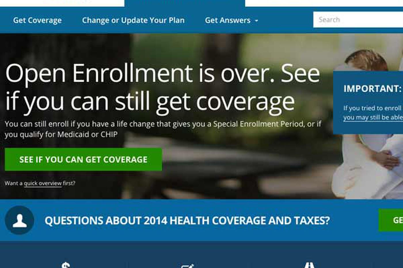 Family experiences some ACA 'back-end' issues