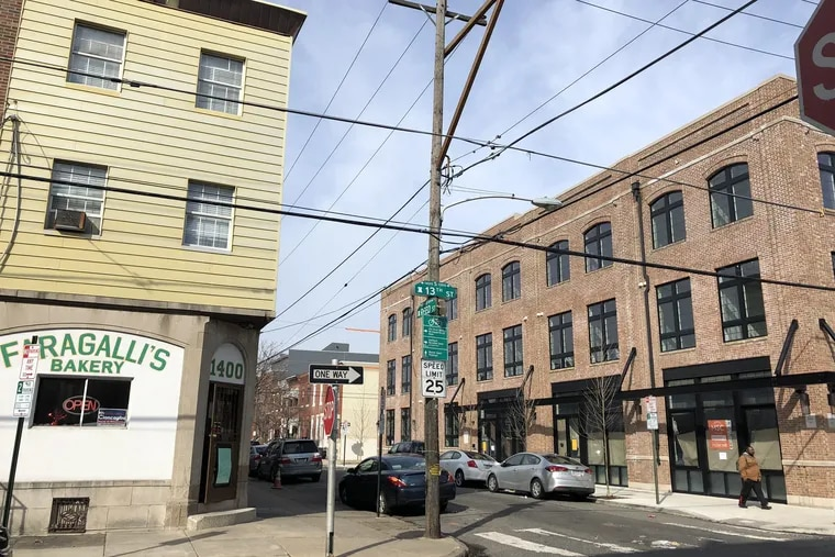 The new Exile building at 13th and Reed looks as if it had always been part of the neighborhood.