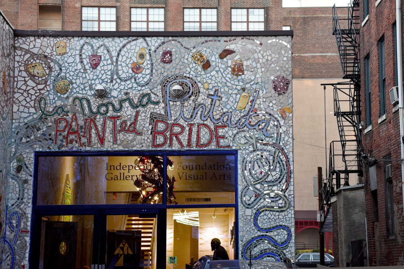 Magic Gardens takes action to save Isaiah Zagar's Painted Bride mosaics: 'one of his masterpieces'