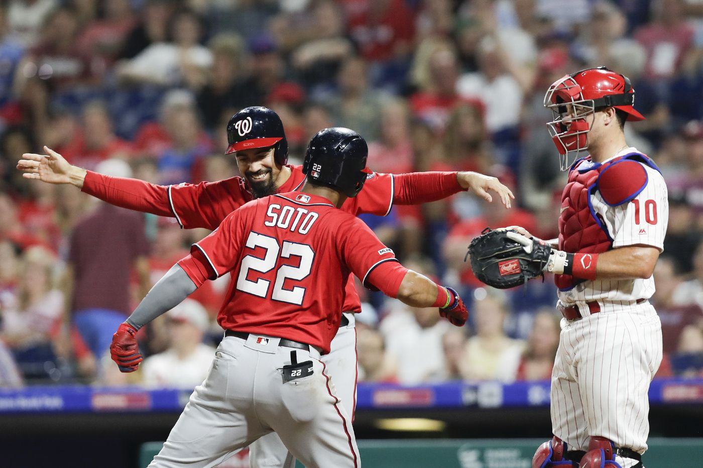 Phillies lose to Nationals as Hector Neris surrenders go-ahead home run in ninth inning