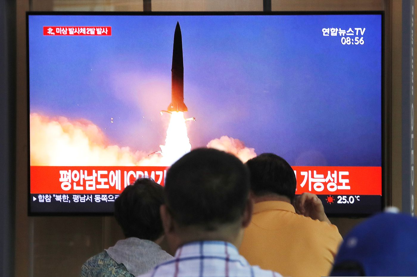 North Korea fires 2 projectiles after offering talks with U.S.