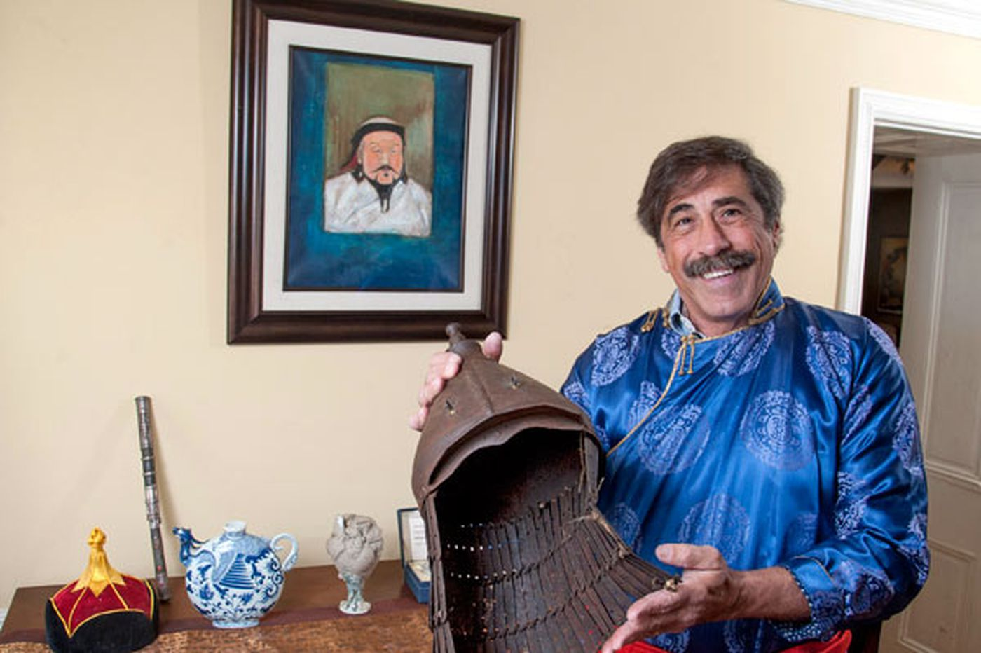 Meet 'Dino Don,' the Delco guy behind the Franklin Institute's upcoming Genghis Khan exhibit