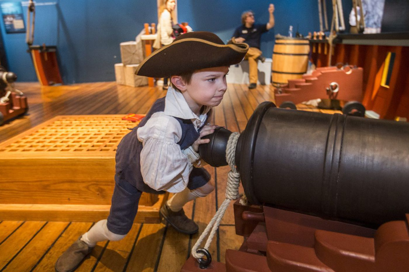 Touring the Revolution Museum with its biggest fan: 7-year-old Oliver | Mike Newall