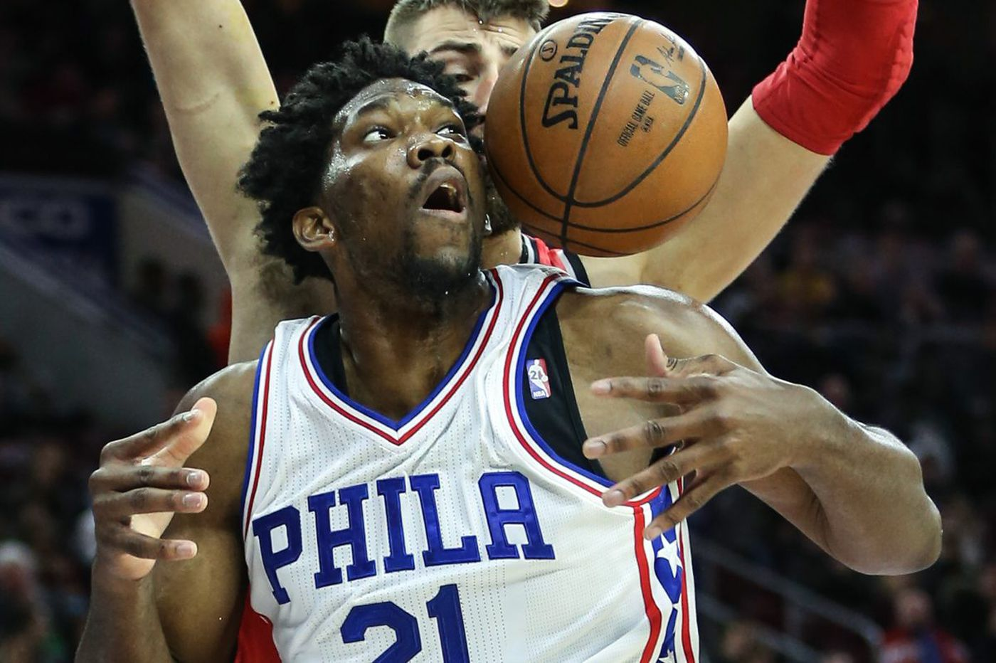 Joel Embiid still not cleared to go full-bore, 76ers say