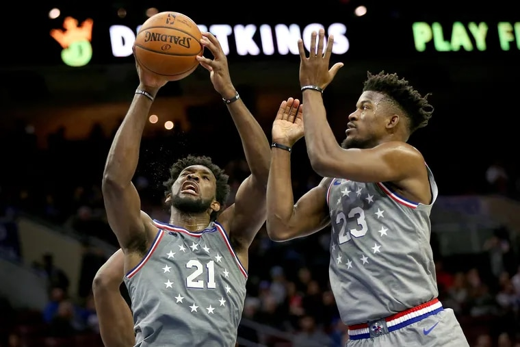 There are no issues between Joel Embiid and Jimmy Butler.