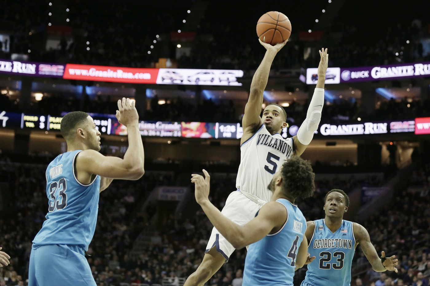 Villanova basketball looking to quickly correct transition defense for Georgetown