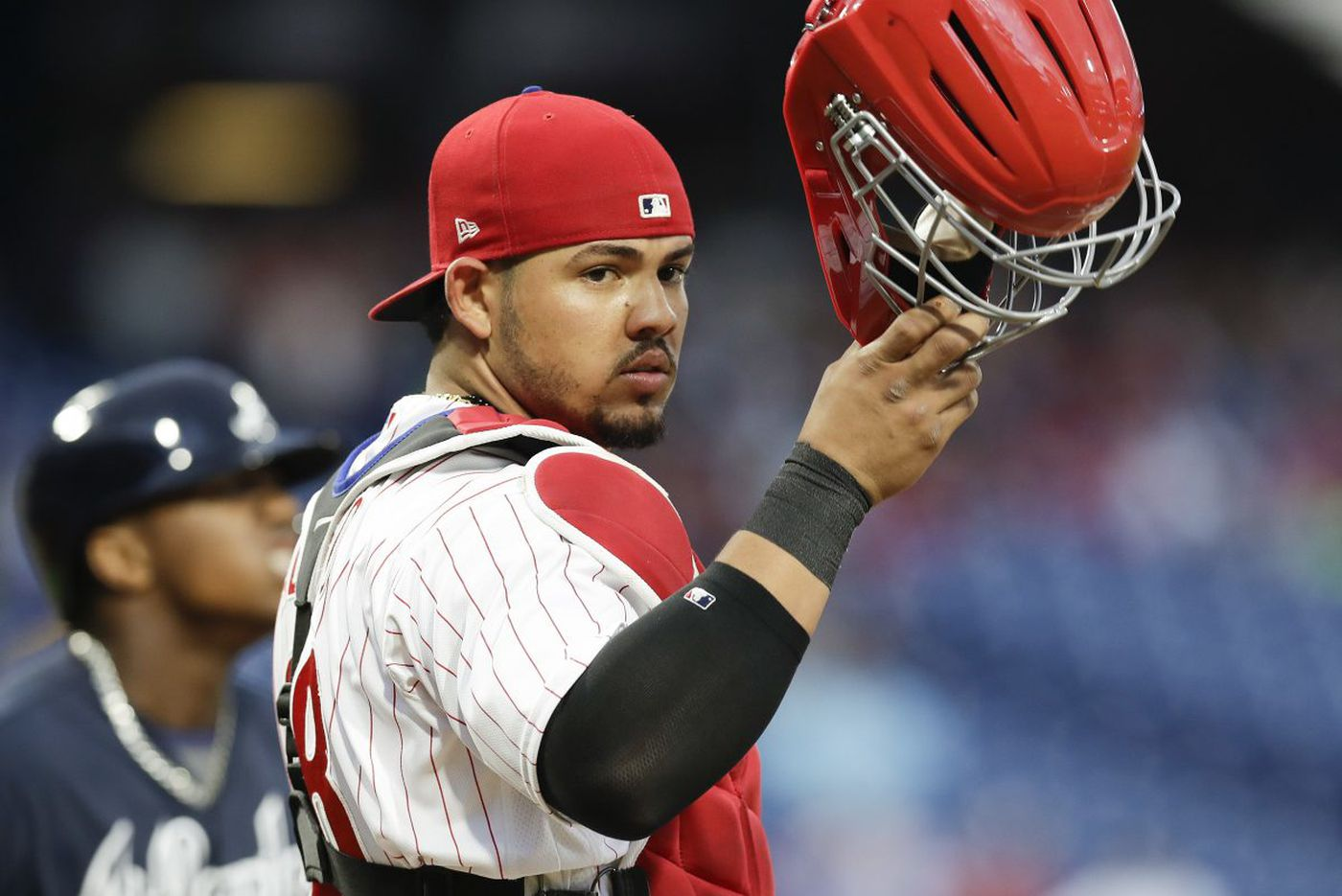 Jorge Alfaro's presence behind the plate boosting Phillies | Scott Lauber