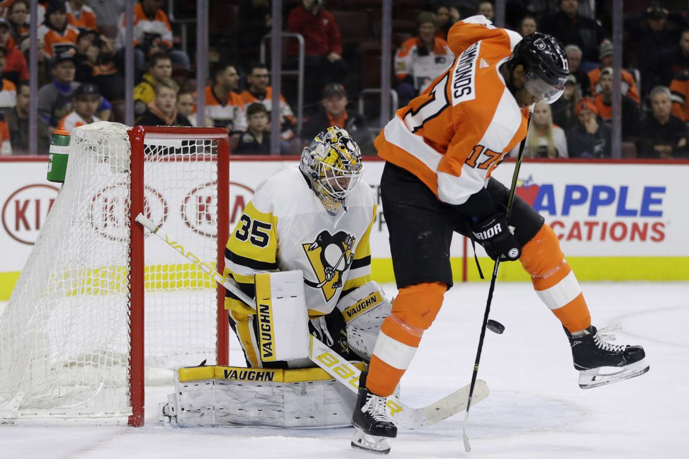 Penguins 5, Flyers 2: Old bad habits return, and other quick observations