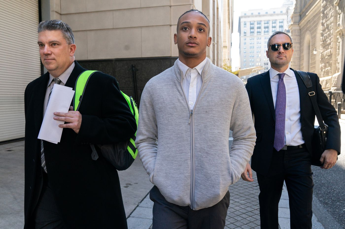 Judge warns accused Rittenhouse stabber over a request to follow victim's brother on Instagram