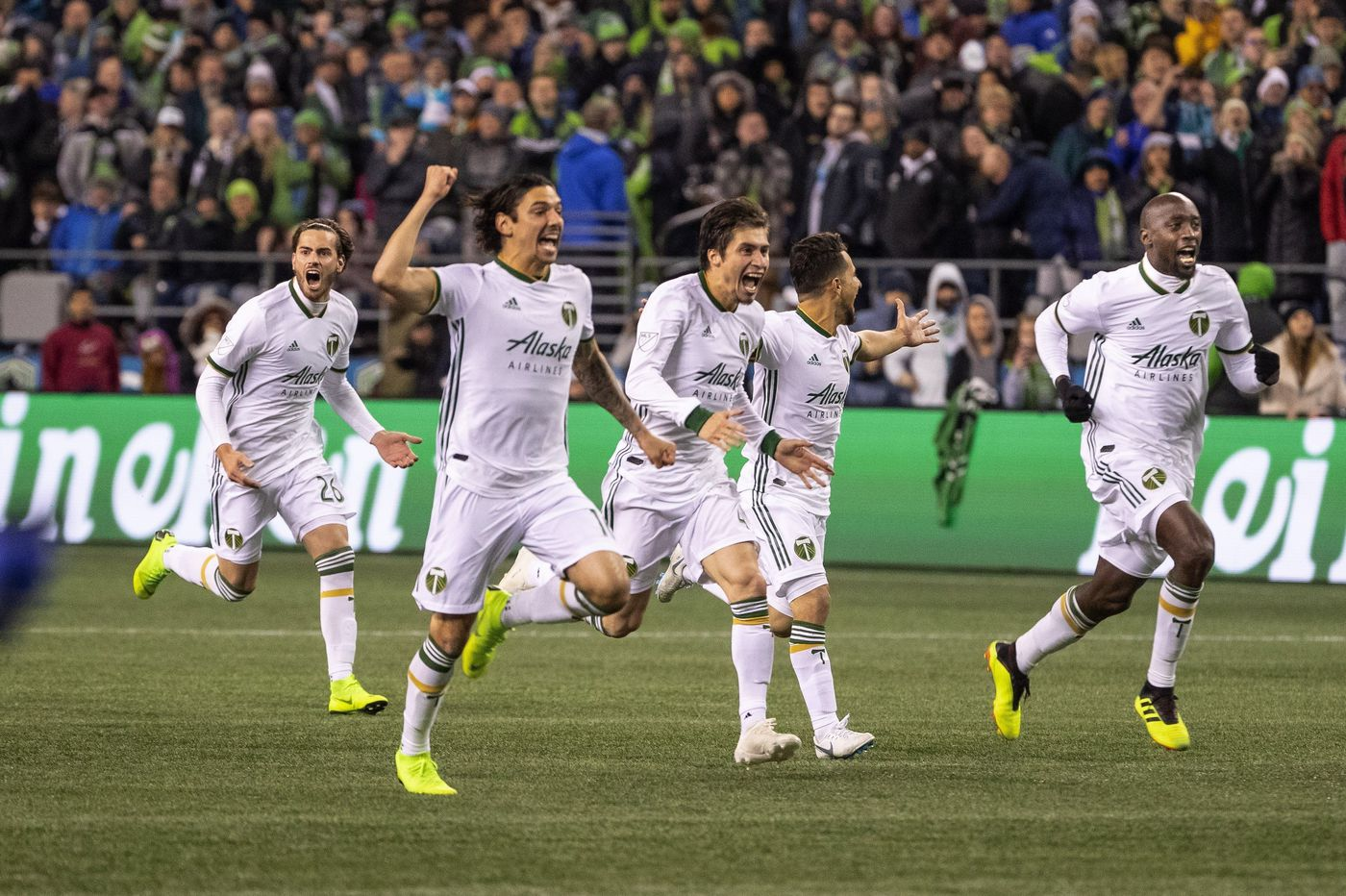 Portland Timbers oust rival Seattle Sounders from MLS playoffs on penalty kicks after 4-4 aggregate draw