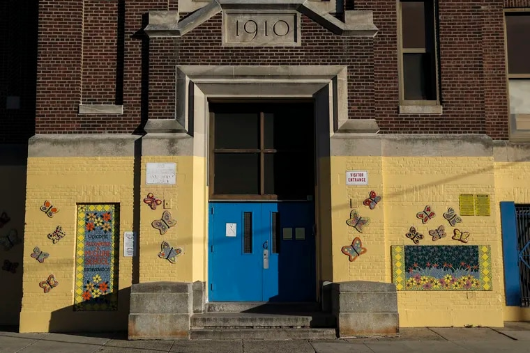 Alexander McClure Elementary School, one of two city elementaries closed Dec. 20 because of asbestos.