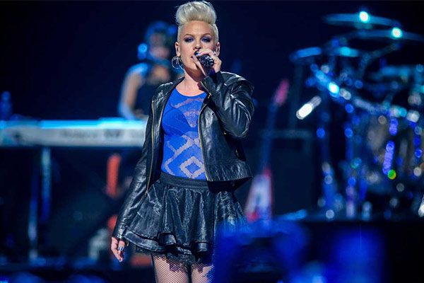Pink brings her tour back to the Wells Fargo Center